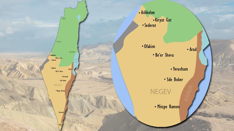 The Journey Home: THE DESERT -- Why the Negev?