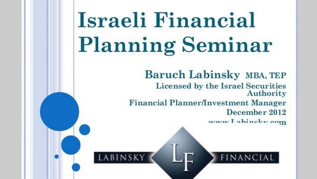 financial planning seminar: