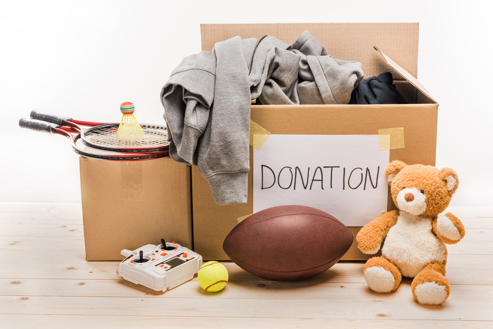 Lighten Up And Donate Your Stuff Before You Pack Up That